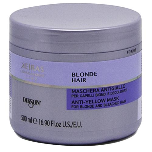Купить Dikson Маска против желтизны для светлых и осветленных волос Mask for blonde and bleached hair, 500 мл (Dikson, Keiras)