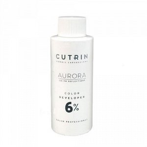 Купить Cutrin Окислитель Color Developer 6%, 60 мл (Cutrin, Aurora)