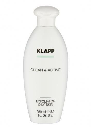 Купить Klapp Эксфолиатор для жирной кожи, 250 мл (Klapp, Clean & active)