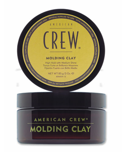 American Crew Classic Molding Clay Формирующая глина для укладки волос сильной фиесации 85 мл (American Crew, Укладка и стайлинг) недорого