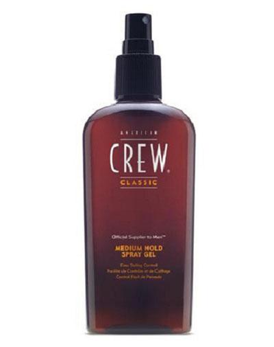 Купить American Crew Classic Medium Hold Spray Gel Спрей-гель для волос средней фиксации 250 мл (American Crew, Укладка и стайлинг)