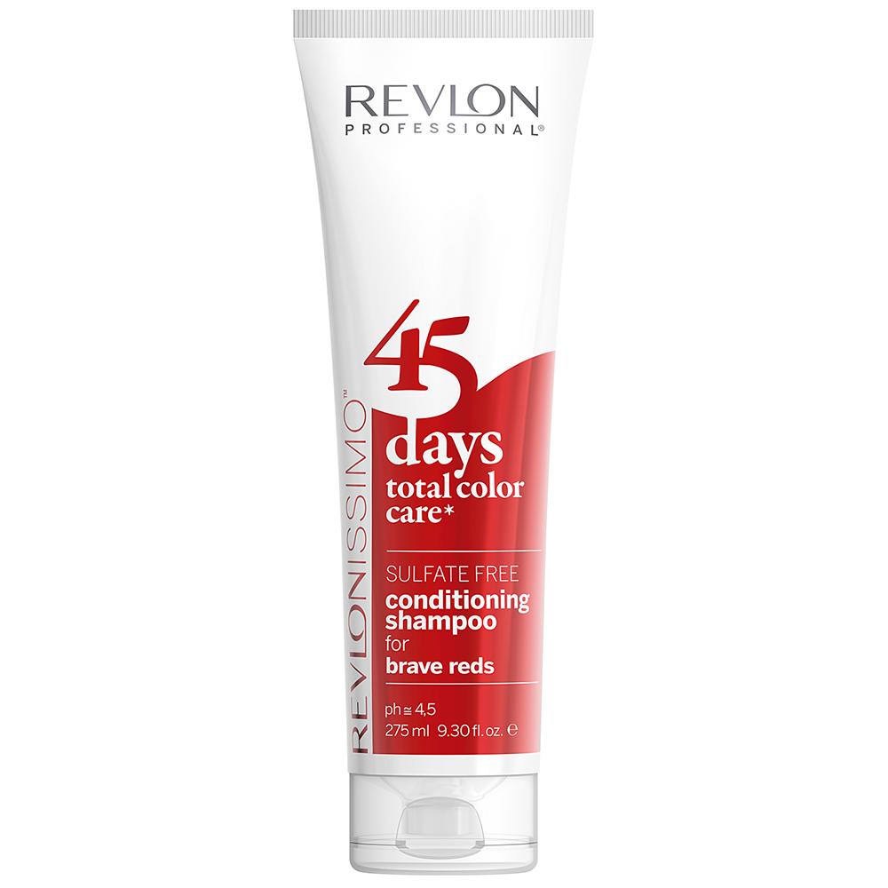 Купить Revlon Professional Шампунь-кондиционер для ярких красных оттенков Brave Reds, 275 мл (Revlon Professional, Revlonissimo)