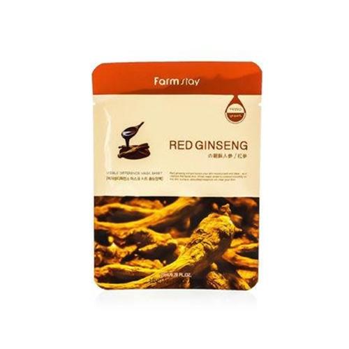 Купить Farmstay Тканевая маска с экстрактом корня красного женьшеня, 23 мл (Farmstay)