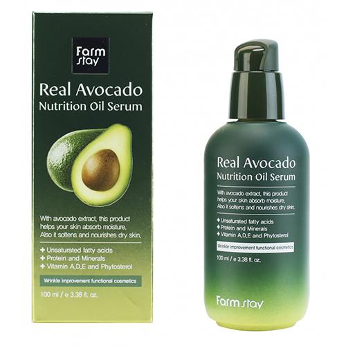 Купить Farmstay Питательная сыворотка с маслом авокадо 100 мл (Farmstay, Для лица)
