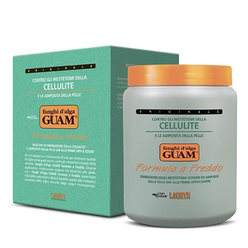 Купить Guam Маска антицеллюлитная с охлаждающим эффектом, 1000 г (Guam, Fanghi d'Alga)