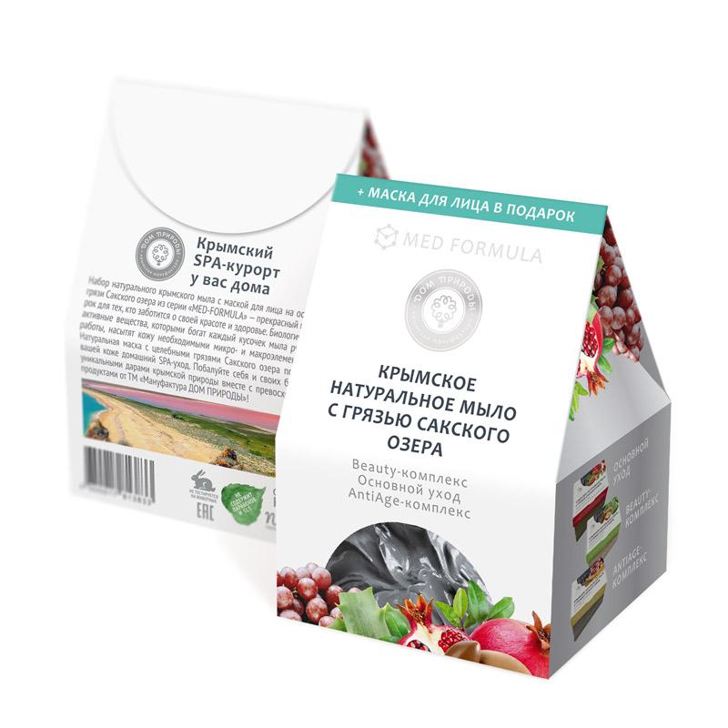 Купить Дом природы Подарочный набор мыла Домик , 3*100 г (Дом природы, )