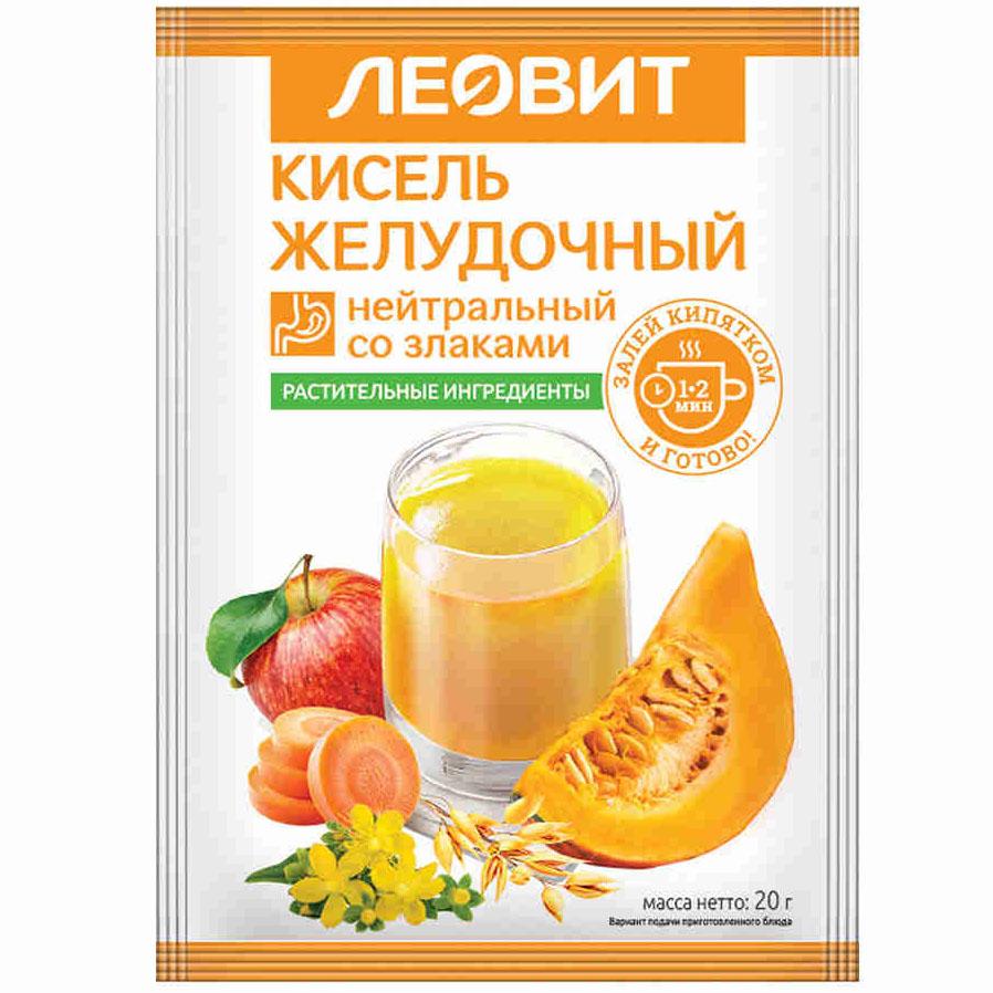 ЛЕОВИТ Кисель желудочный нейтральный, 20 г (ЛЕОВИТ, )