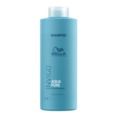 Купить Wella Professionals Очищающий шампунь Aqua Pure, 1000 мл (Wella Professionals, Уход за волосами)