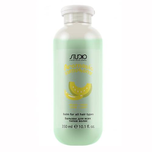 Купить Kapous Professional Бальзам для всех типов волос «Банан и дыня», 350 мл (Kapous Professional, Kapous Studio)