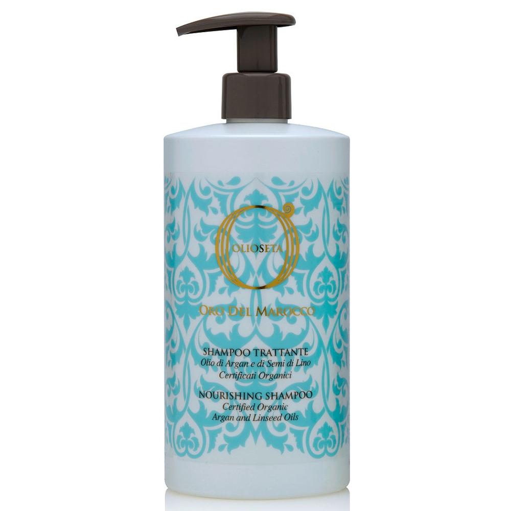 Купить Barex Шампунь питательный с маслом арганы и маслом семян льна Nourishing Shampoo, 750 мл (Barex, Olioseta)