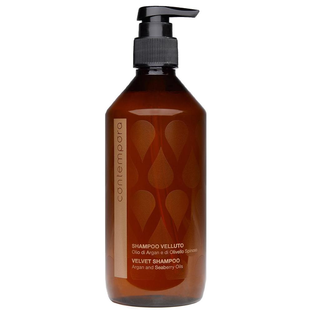 Купить Barex Разглаживающий шампунь Сияющий бархат Velvet Shampoo, 500 мл (Barex, Contempora)