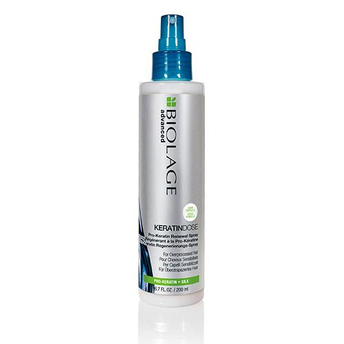 Matrix Биолаж Кератиндоз Несмываемый восстанавливающий спрей для сильно поврежденных волос, 200 мл (Matrix, Biolage)