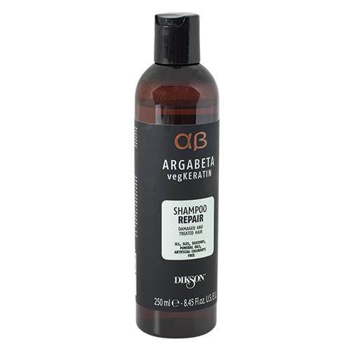 Dikson Шампунь для ослабленных и химически обработанных волос с протеинами риса и сои vegKeratin, 250 мл (Dikson, Argabeta) dikson шампунь one's shampoo fortificante укрепляющий с гидрализованными протеинами риса 1000 мл