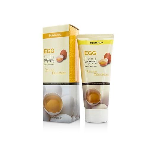 Купить Farmstay Пенка очищающая с яичным экстрактом, 180 мл (Farmstay)