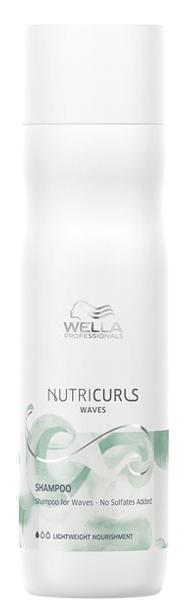 Купить Wella Professionals Бессульфатный шампунь для вьющихся волос Shampoo for Waves - No Sulfates Added, 250 мл (Wella Professionals, Уход за волосами)