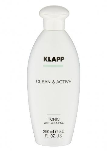Klapp Тоник со спиртом, 250 мл (Klapp, Clean & active)  - Купить