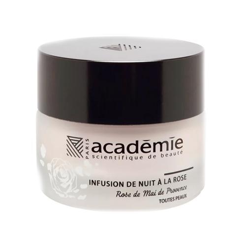 "Academie Ночной крем ""Розовая инфузия"", 30 мл (Academie, Aromatherapie)"