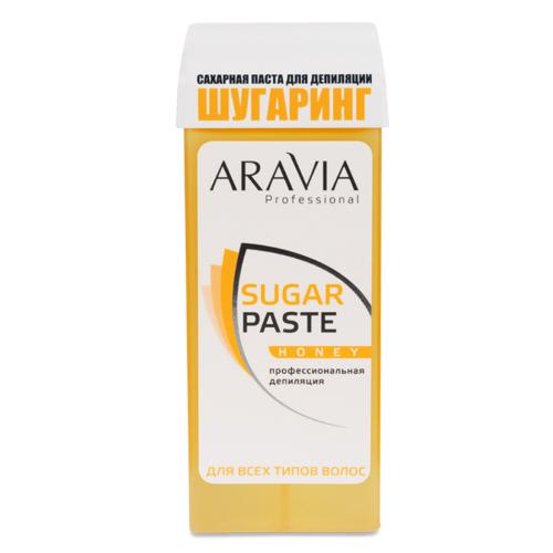 Aravia professional Паста сахарная для депиляции в картридже очень мягкой консистенции Медовая, 150 г (Aravia professional, Aravia Professional)