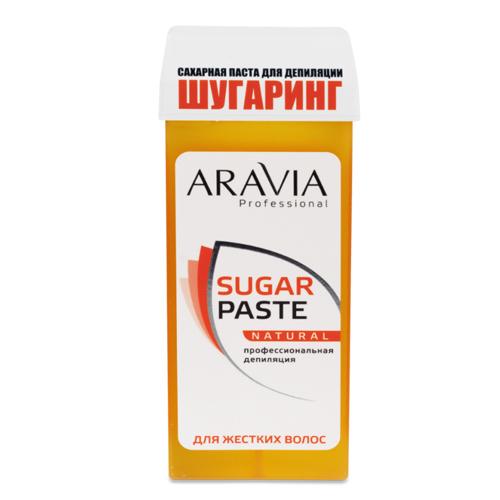 Aravia professional Паста сахарная для депиляции в картридже мягкой консистенции  Натуральная, 150 г (Aravia professional, Aravia Professional)