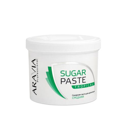Aravia professional Паста сахарная для депиляции средней консистенции Тропическая, 750 г (Aravia professional, Aravia Professional)