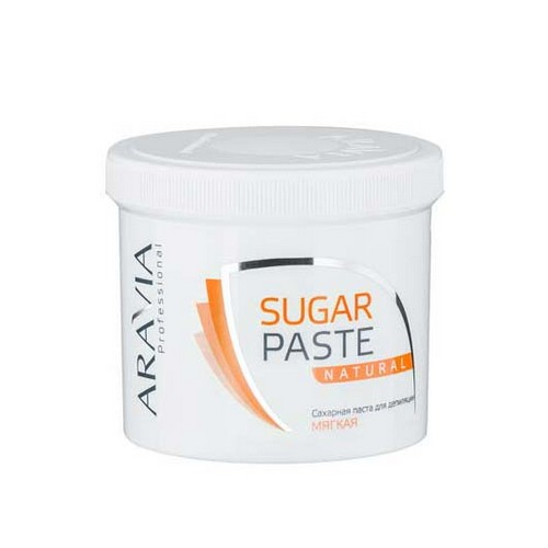 Aravia professional Паста сахарная для депиляции Натуральная мягкой консистенции, 750 г (Aravia professional, Aravia Professional)
