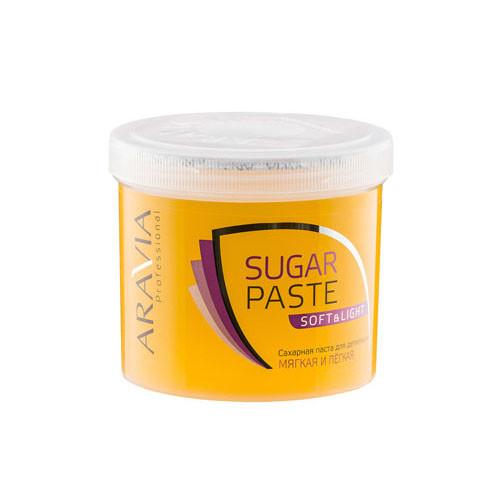 Купить Aravia professional Паста сахарная для депиляции Мягкая и Легкая мягкой консистенции, 750 г (Aravia professional, Aravia Professional)