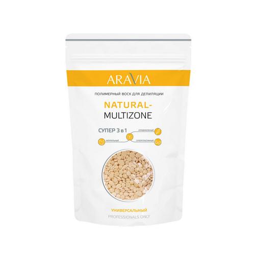 Купить Aravia Professional Полимерный воск для депиляции Natural-multizone, 1000 г (Aravia Professional)