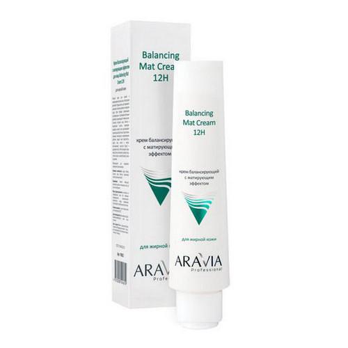 Купить Aravia Professional Крем для лица балансирующий с матирующим эффектом Balancing Mat Cream 12H, 100 мл (Aravia Professional)