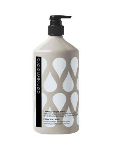 Купить Barex Универсальная маска для всех типов волос с маслом облепихи и маслом маракуйи 1000 мл (Barex, Contempora)