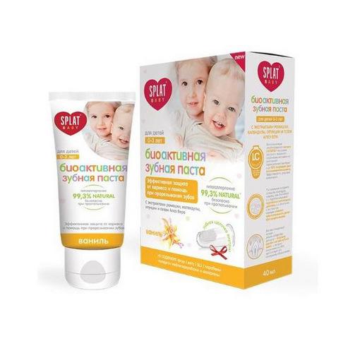Купить Splat Набор Baby 0-3 (Зубная паста Ваниль + щетка) (Splat, Baby)