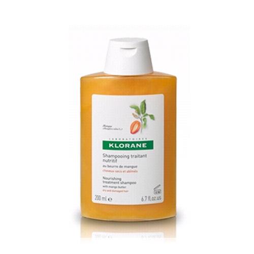 Купить Klorane Шампунь с маслом Манго для сухих, поврежденных волос, 200 мл (Klorane, Dry Hair)