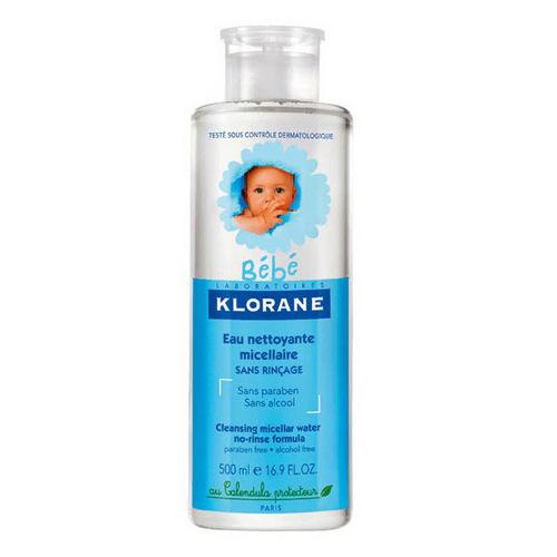 Купить Klorane Детская очищающая вода, 500 мл (Klorane, Klorane Bebe)