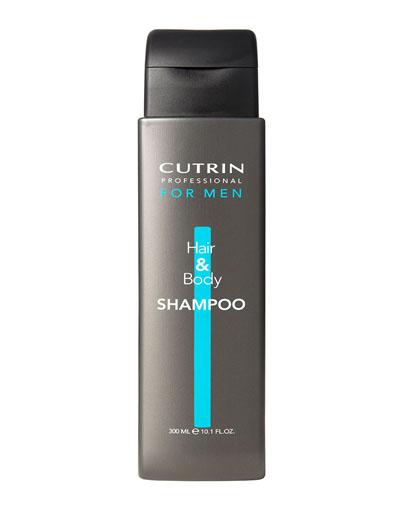 заказать Кутрин Шампунь для волос и тела 300 мл (Cutrin, For Men)
