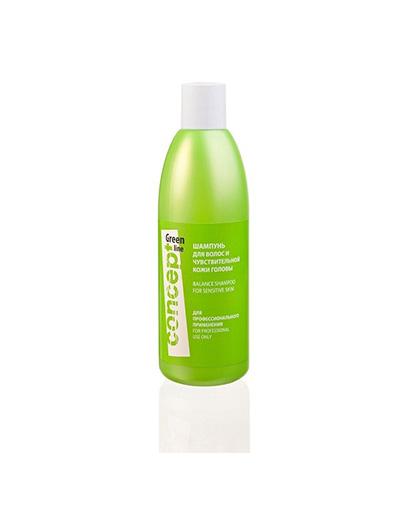 заказать Concept Шампунь для чувствительной кожи головы, 300 мл (Green Line)