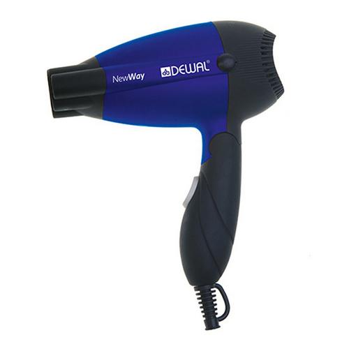 Купить Dewal Pro Фен дорожный складной New Way, синий, 1000Вт (Dewal Pro, Фены)