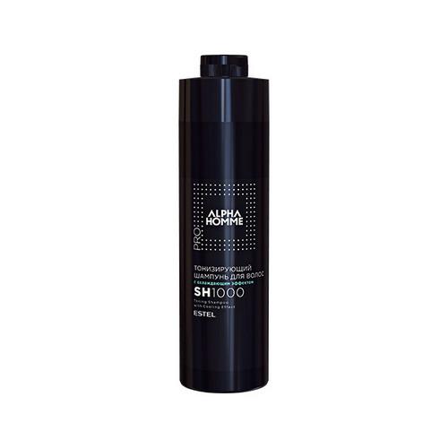 Купить Estel Professional Тонизирующий шампунь для волос с охлаждающим эффектом PRO 1000 мл (Estel Professional, Alpha homme)