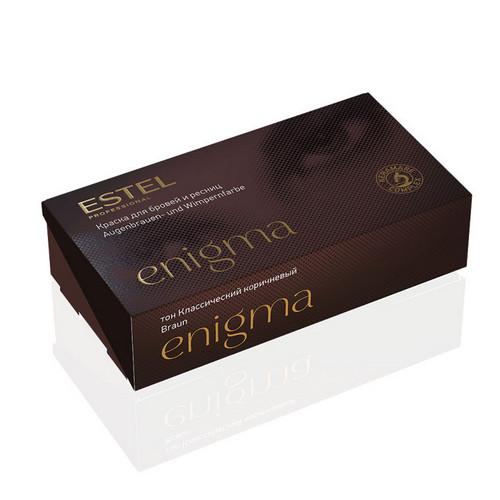 Estel Professional Краска для бровей и ресниц, 4 тон классический коричневый 1 шт (Estel Professional, Enigma) недорого