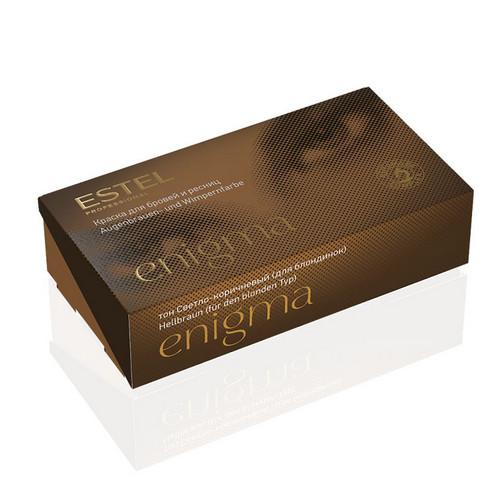 Estel Professional Краска для бровей и ресниц, 5 тон светло-коричневый (для блондинок) 1 шт (Estel Professional, Enigma) недорого