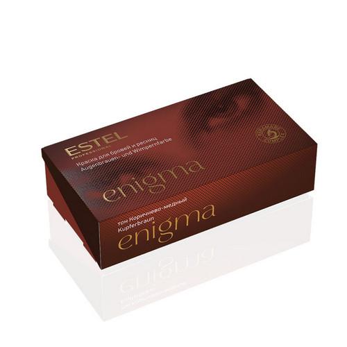Estel Professional Краска для бровей и ресниц, 6 тон коричнево-медный 1 шт (Estel Professional, Enigma) недорого