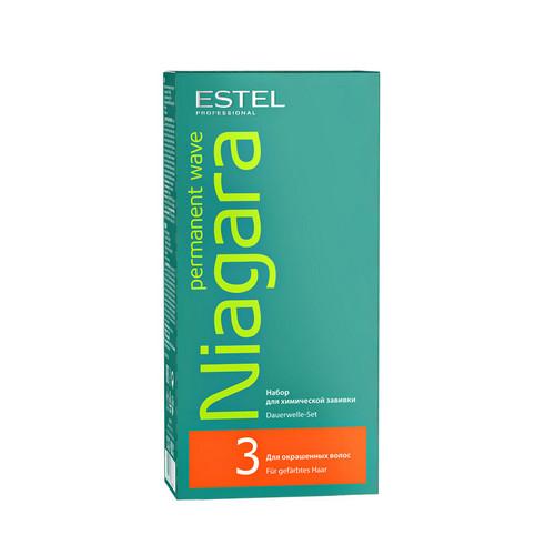 Estel Professional Набор для химической завивки для окрашенных волос 1 шт (Estel Professional, Niagara)  - Купить