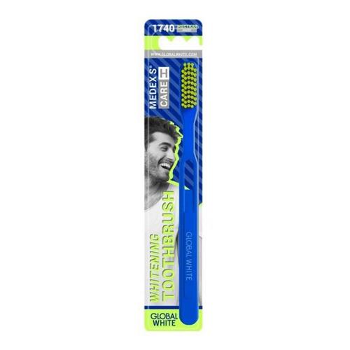 Купить Global White Зубная щетка, жесткая, 1 шт (Global White, )