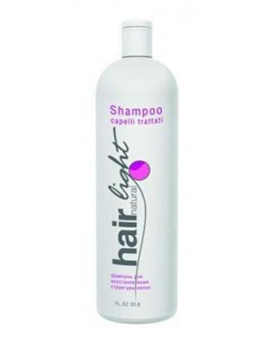 Купить Hair Company Hair Natural Light Shampoo Capelli Trattati Шампунь для восстановления структуры волос, 1000 мл (Hair Company, Hair Natural Light)