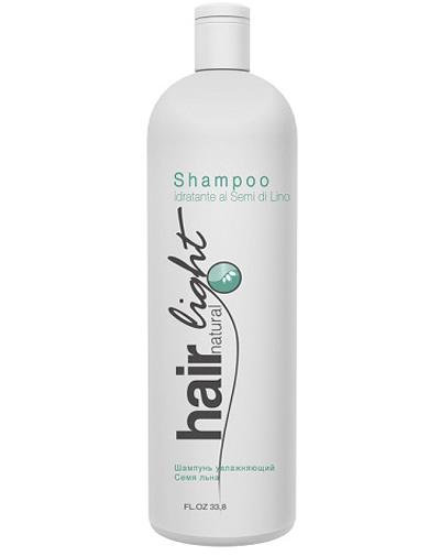 Купить Hair Company Hair Natural Light Shampoo Idratante ai Semi di Lino Шампунь увлажняющий Семя льна , 1000 мл (Hair Company, Hair Natural Light)