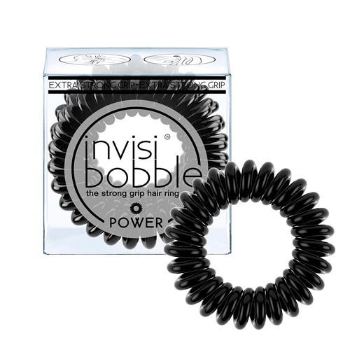 Купить Invisibobble Резинка-браслет для волос invisibobble POWER True Black (с подвесом) черный (Invisibobble, Power)