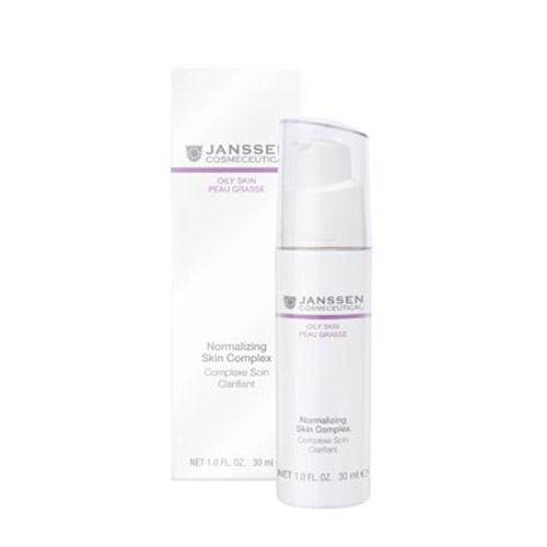 Купить Janssen Нормализующий концентрат для ухода за жирной кожей 30 мл (Janssen, Oily skin)