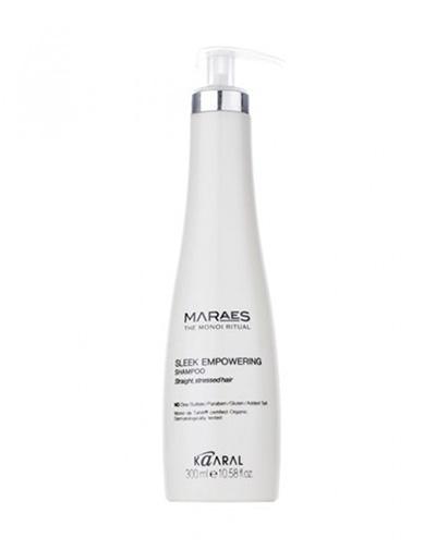 Купить Kaaral Восстанавливающий шампунь для прямых поврежденных волос Sleek Empowering Shampoo, 300 мл (Kaaral, Maraes)