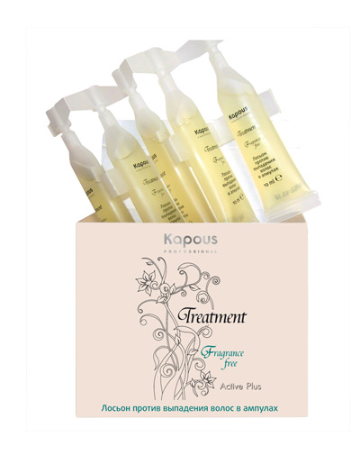 Kapous Professional Лосьон против выпадения волос в ампулах 5х10 мл (Kapous Professional, Fragrance free) недорого