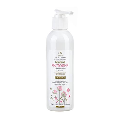 Kleona Интимное мыло Femina Фитолия , 200мл (Kleona, Для тела)  - Купить