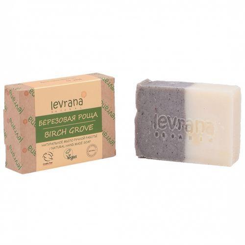 Купить Levrana Натуральное мыло ручной работы Березовая роща , 100 г (Levrana, Для тела)