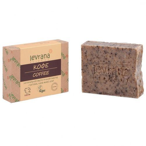 Купить Levrana Натуральное мыло ручной работы Кофе , 100 г (Levrana, Для тела)